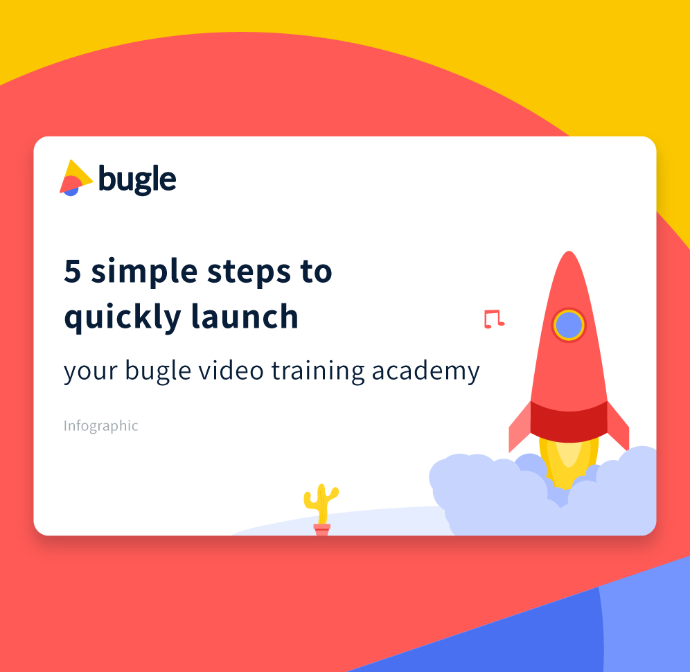 How to setup your bugle video training academy in 5 simple steps